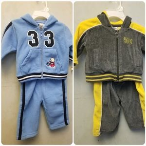 NWT Baby boy velvet and sweater sets (D1)